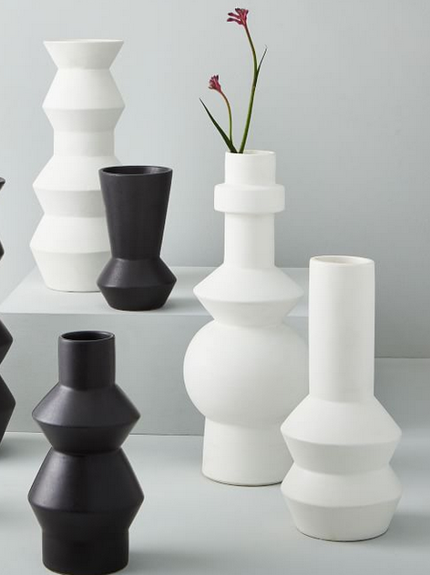 Ceramic Totem Vases
